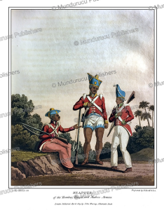 Seapoys of the Bombay, Madras and Bengal army, India, G. Fitz Clarence, 1819   Photos and Images   Travel