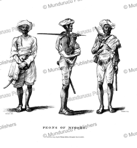 Peons of Mysore, India, H. Salt, 1809 | Photos and Images | Travel