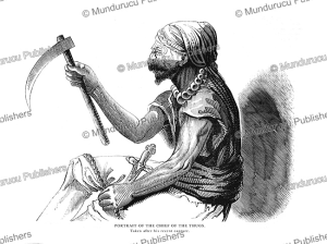 Chief of the Thugs, East India, 1843 | Photos and Images | Travel