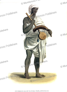 A Bansee or flute-player, India, Frans Balthazar Solvyns, 1804 | Photos and Images | Travel