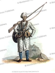 A Behaleea or Hindu soldier, India, Frans Balthazar Solvyns, 1804 | Photos and Images | Travel