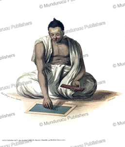 A Dybuck or Hindu astronomer, India, Frans Balthazar Solvyns, 1804 | Photos and Images | Travel