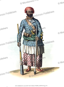 A soldier of Bengal under the Mogul government, India, Frans Balthazar Solvyns, 1804 | Photos and Images | Travel