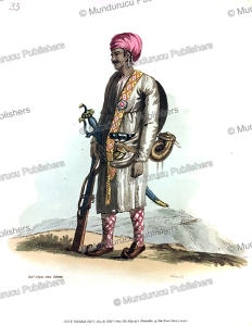 Private guards of Bengal, India, Frans Balthazar Solvyns, 1804 | Photos and Images | Travel
