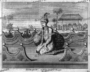 shah humayun (1508-1556), the 2nd mughal emperor and 8th great mughal, francois valentyn, 1776