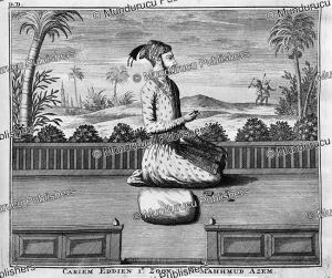 karim eddien, eldest son of muhammad azam (1653-1707), a titular mughal emperor, francois valentyn, 1776