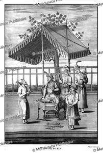 jahandar shah or ma'az-ud-din (1661-1713), the 8th mughal emperor and 14th great mughal,  francois valentyn, 1776