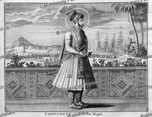 Farrukhsiyar (1685-1719), the 9th Mughal Emperor and 15th great Mughal, Francois Valentyn, 1776 | Photos and Images | Travel
