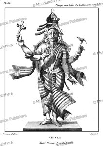 The Hindu god Shiva, P. Sonnerat, 1782 | Photos and Images | Travel