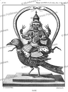 The Hindu god Shani, P. Sonnerat, 1782 | Photos and Images | Travel
