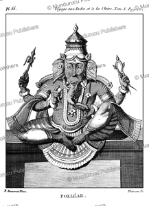 The Hindu god Ganesha who presides over marriages, P. Sonnerat, 1782   Photos and Images   Travel