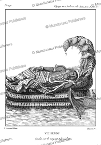 Vishnu sleeps on the snake Adishesha, P. Sonnerat, 1782 | Photos and Images | Travel