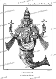 Fish, the 1st incarnation of Vishnu, P. Sonnerat, 1782 | Photos and Images | Travel