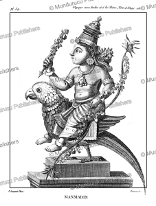 The Hindu god Kamadeva, P. Sonnerat, 1782 | Photos and Images | Travel