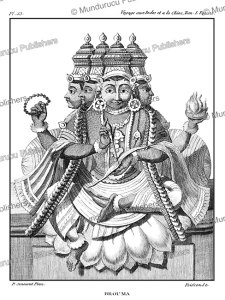 The Hindu god Brahma, P. Sonnerat, 1782 | Photos and Images | Travel