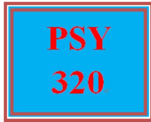 psy 320 week 2 motivation and needs presentation