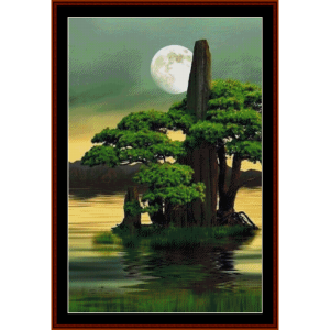 fantasy island - fantasy cross stitch pattern by cross stitch collectibles