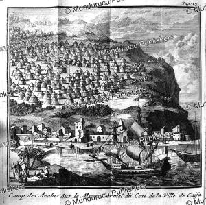 Arab camp at Mount Carmel near Caifa (Haifa), Arabia, J. Wandelaar, 1718 | Photos and Images | Travel