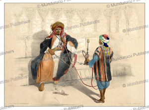 Arab sheikh smoking, d'Avennes Prisse, 1851 | Photos and Images | Travel