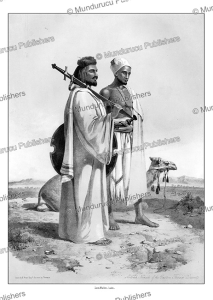 arab nomads of the thebaid desert, d'avennes prisse, 1851