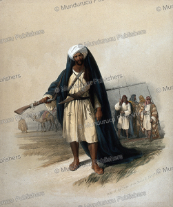 Arabs of the Beni Said tribe, David Roberts, 1834 | Photos and Images | Travel