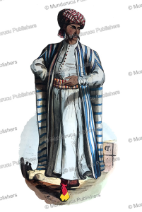Arab merchant with a tattoo pattern on his cheek, Adolphe Franc¸ois Pannemaker, 1843 | Photos and Images | Travel