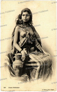 Bedouin girl, J. Geiser, 1910 | Photos and Images | Travel
