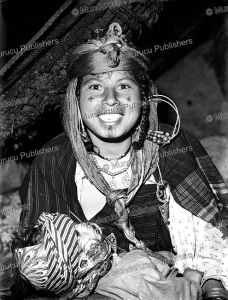 Bedouin woman attending a wedding, 1954 | Photos and Images | Travel