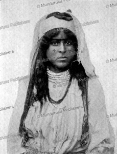 Syrian girl with crosses tattooed on her cheeks, I. Koch, 1905 | Photos and Images | Travel