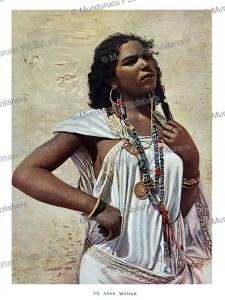 an arab woman, h.n. hutchinson, 1900