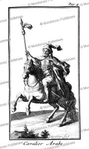 Arabian horseman, Arabia, J. Wandelaar, 1718 | Photos and Images | Travel