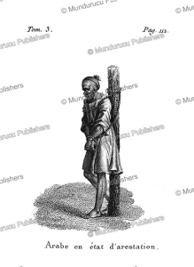 Arab man arrested, F. Massard, 1816   Photos and Images   Travel
