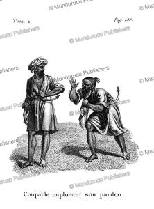 A guilty man imploring for forgiveness, Arabian Desert, F. Massard, 1816 | Photos and Images | Travel