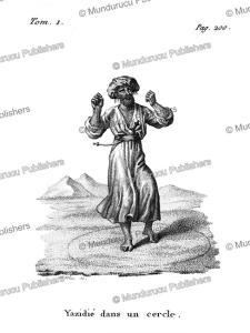 Yazidi in a circle, Arabia, F. Massard, 1816 | Photos and Images | Travel