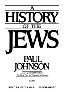A History of the Jews | eBooks | Religion and Spirituality