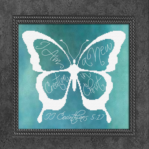 First Additional product image for - New Creation Butterfly