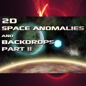 2d space anomalies and backdrops part ii