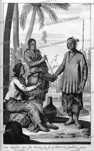 man and woman of dutch malakka (dutch malay), jan nieuwhof, 1652
