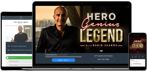 Second Additional product image for - Robin Sharma – Hero Genius Legend