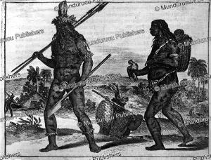tapuya indians, dutch brasil, jan nieuwhof, 1652
