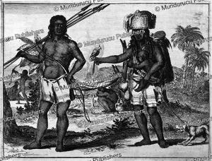tapuya indians, jan nieuwhof, 1652