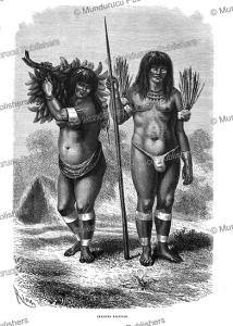 Ticuna Indians, Peru, E´douard Riou, 1867 | Photos and Images | Travel