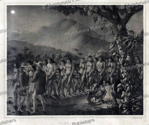 Puri´ Indians dance at night, Brazil, Spix and Martius, 1823 | Photos and Images | Travel