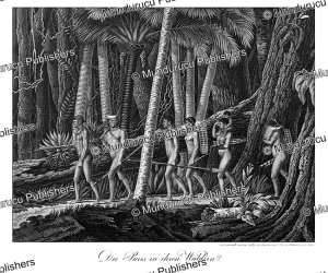Puri´ Indians in their forest, Prinz zu Wied-Neuwied, 1821 | Photos and Images | Travel