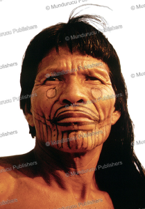 Karaja´ chief with traditional face paint and tattoo | Photos and Images | Travel