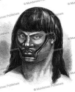 Juri´ warrior, Brazil, E´douard Riou, 1867 | Photos and Images | Travel