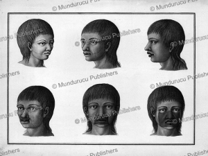 Indigenous face decorations, Brazil, 1750 | Photos and Images | Travel