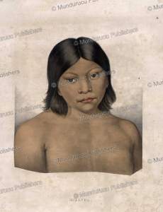Miranha woman, Brazil, Spix and Martius, 1823 | Photos and Images | Travel