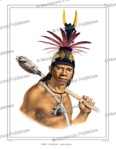 Camacan chief, Brazil, Jean Baptiste Debret, 1835 | Photos and Images | Travel