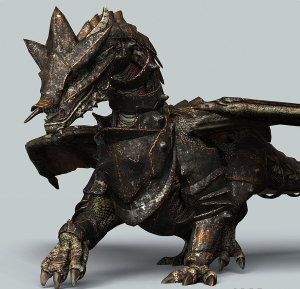 battle dragon 3d video